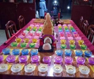 我寺迎春祈福及公益禅茶培训